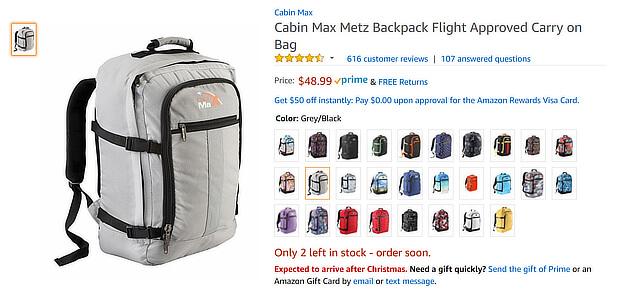 Thiết kế web của Amazon khéo léo nhắc nhở khách hàng rằng chỉ còn 2 sản phẩm có sẵn