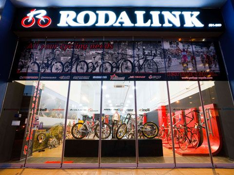 Rodalink hiện có 54 cửa hàng bao gồm 44 cửa hàng ở Indonesia, 3 cửa hàng ở Singapore và 7 cửa hàng ở Malaysia
